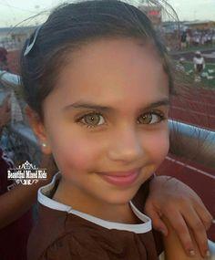 Aria Imani Callahan - 6 Years • East Indian, Persian, Irish, German & Egyptian ❤ FOLLOW @beautifulmixedkids on instagram