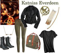 Halloween Costume: Katniss Everdeen