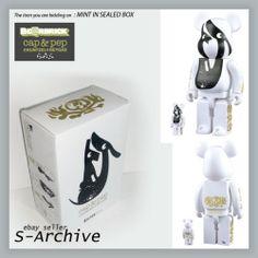 COLETTE : Cap & Pep 400% +100% Bearbrick box set MEDICOM *BRAND NEW* MISB | eBay