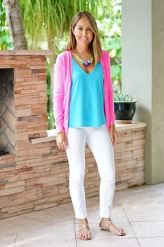 SO love this outfit. Gorgeous and bright and perfect for summer.