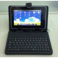 """Easily turn your 10"""" Tablet into a Mini Laptop with this Keyboard Case for only £18.00 inc P."""