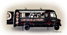 Caravans, Food Truck, Street Food, Madrid, Google, Gourmet, Illustrations, Bebe, Japanese Street Food