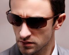 New Fashion Men polarized Sunglasses Designer Driving Sunglasses vintage Sun Glasses oculos de masculino 8179 man eye candy *** Details on this product can be viewed by clicking the VISIT button Polarized Sunglasses, Mens Sunglasses, Male Eyes, New Fashion, Eye Candy, Button, Vintage, Design, Collection
