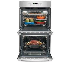 Inside wall ovens. Electric Wall Oven, Stainless Steel Oven, Kitchen Appliances, Wall Ovens, Marketing, Diy Kitchen Appliances, Home Appliances, Kitchen Gadgets