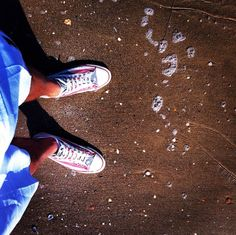 American style Converse weared by me.