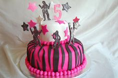 CUSTOMISED CAKES BY JEN: dance cake