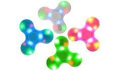 Cheap fidget toys, Buy Quality toys for children directly from China spinner toy Suppliers: LED Light Fidget Spinner ABS EDC Finger Spinner with Bluetooth Speaker Hand Spinner Toy For Children Autism ADHD Anxiety Stress Figet Spinners, Hand Fidgets, Fidget Spinner Toy, Mini Bluetooth Speaker, Portable Speakers, Music Speakers, Sound Speaker, Audio Music, Desk Toys