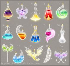 Potion adopts 16 (CLOSED) by Rittik-Designs