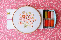 Stitch a Spot of Spring With 10 Hand Embroidery Designs!