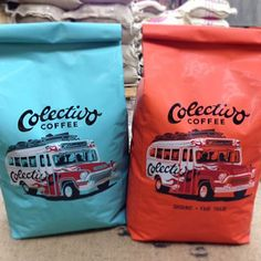 New Name and Logo for Colectivo Coffee. It's time for coffee #packaging PD