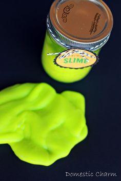 Domestic Charm: Glow-in-the-Dark Slime