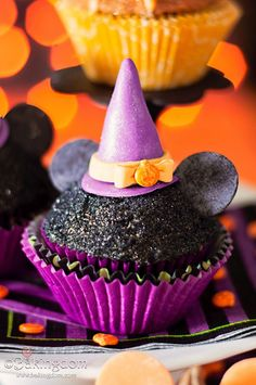 Mickey Mouse Halloween Cupcake - , cupcakes, cake