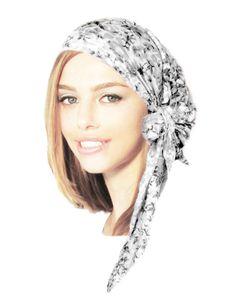 Pre tied Bandana Hair Snood Tichel Chemo Hat by ShariRoseShop