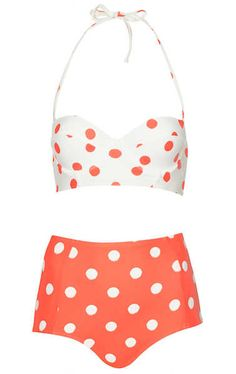 In Summer, soooooo cute!!! Love the colors and high waisted bottoms!