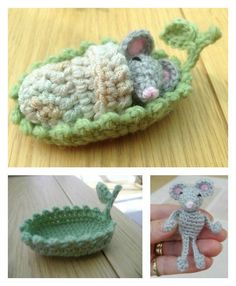 Mini Mouse Sleepy Head Free Crochet Pattern