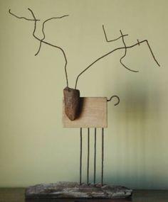 """Saatchi Art Artist Oriol Cabrero; Sculpture, """"deer"""" #art"""