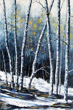 Original art palette knife paintings in oil by by PaletteKnifeArt, #art #painting #paletteknife