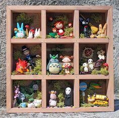 Hayao Miyazaki fanart clay by ~tanadelbianconiglio on deviantART