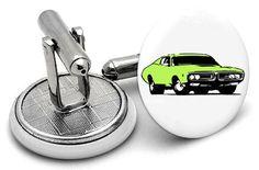 Muscle Car Cufflinks Latest Trends, Cufflinks, Muscle, Car, Accessories, Automobile, Muscles, Wedding Cufflinks, Autos