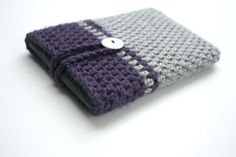 Crochet Kindle eReader tablet smartphone Nook Cozy cover case sleeve