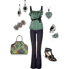 Love this!  and that purse is AWESOME!!  Audrey, created by medeak on Polyvore