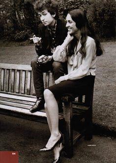 Bob Dylan and Joan Baez, 1965
