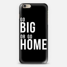 Go Big or Go Home Metaluxe 01 - Classic Snap Case