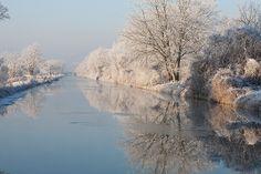 Le Grand Ried en hiver © C. Meyer