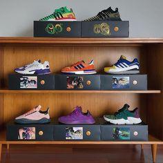 Las cajas de los tenis de Dragon Ball Z de Adidas hacen una