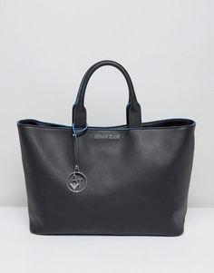 ARMANI JEANS SIMPLE TOTE BAG - MULTI.  armanijeans  bags  leather  hand b739c64e186ea