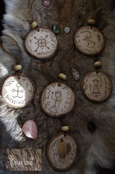 Your place to buy and sell all things handmade Wood Reindeer, Shaman Symbols, Pagan Christmas, Christmas Tree, Pagan Yule, Loki Laufeyson, Yule Crafts, Yule Decorations, Wall Ornaments