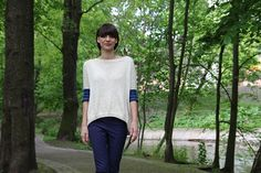 Pickles - Those Blue Sleeves Sweater - Knitting Pattern