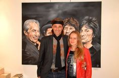 with the rolling stones Rolling Stones, Painting, Art, Craft Art, Painting Art, Kunst, Paintings, Drawings, Art Education