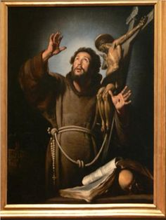 St.Francis in ecstasy - Bernardo Strozzi