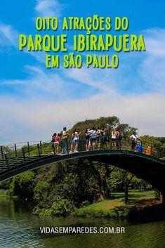 Atrações do Parque Ibirapuera; o que fazer no Parque Ibirapuera em São Paulo; museus do Parque Ibirapuera.