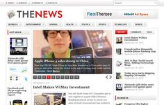 TheNews is an elegant and clean news/magazine theme. Fully customizable with our options page framework FlexiPanel.