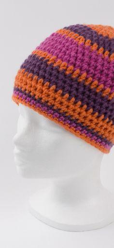 101 besten gehäckelte mützen Bilder auf Pinterest | Beanie mütze ...