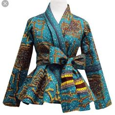 Ankara tops with peplum shape give a figure that blends through all the curves of your body. Whether tall, short, slim or fat, its latest styles and designs will do justice to bringing out your body structure.They are so super stylish because that can be paired with tons of other fabric such as...