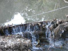 A water dam in Mae Ra Mo refugee camp