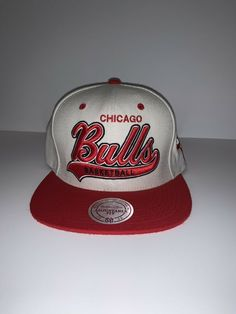 bc621a2e5b7 mitchell ness snapback chicago bulls  fashion  clothing  shoes  accessories   mensaccessories