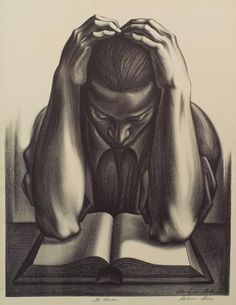 The reader From New York Public Library Digital Collections.