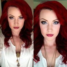 Pravana Vivids. Mac Makeup.