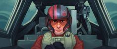 Poe Dameron - Star Wars The Force Awakens by jdelgado on @DeviantArt