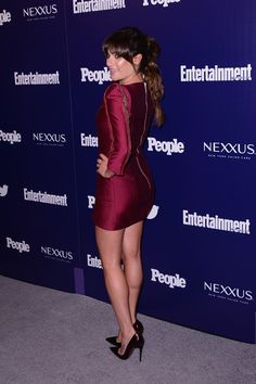 Lea Michele Photos: 'Entertainment Weekly' and 'People' Celebrate The New York Upfronts - Arrivals
