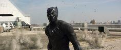 Wallpaper Black Panther Captain America Civil War K Movies