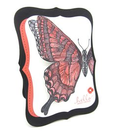 PinkBlingCrafter: The Swallowtail Butterfly card