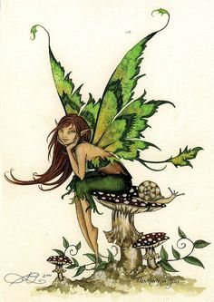pixie mythical creature drawing - Google Search