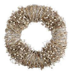 Dieser Türkranz sorgt für ein elegantes Flair in Ihrem Raum oder vor Ihrer Haustüre. Der Kranz kommt in Gold- und Silberfarben und überzeugt mit seiner weihnachtlichen Optik. Die perfekte Dekoration für Weihnachten!