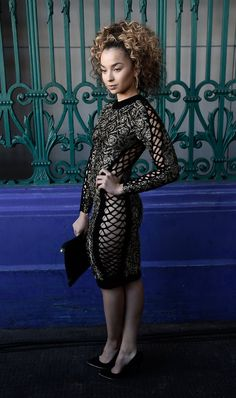 Pin for Later: Julien Macdonald Proves a Man Is a Woman's Best Accessory  Ella Eyre.