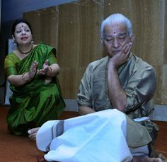 Dancer Dhananjayan performs with Tulsi Badrinath, author of Master of Arts: A Life in Dance, at the launch of the book in Chennai.  The Hindu covers the launch of this tale of the struggles and triumphs in dancers' lives.